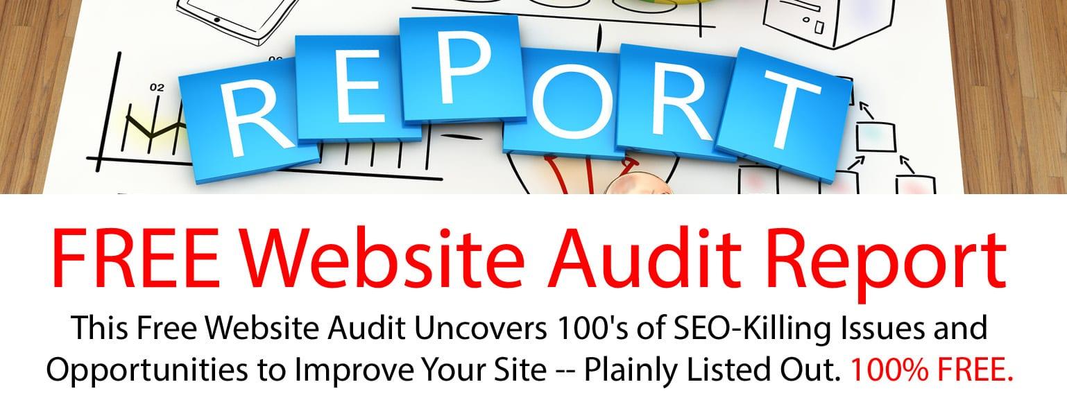 free website audit report